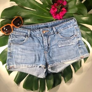 H&M Denim Short Jean Shorts